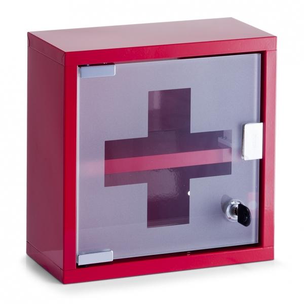 achat armoire pharmacie murale rouge design clef vide. Black Bedroom Furniture Sets. Home Design Ideas