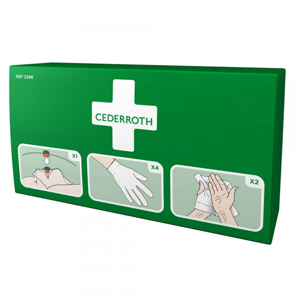 Kit de protection 1er Secours CEDERROTH