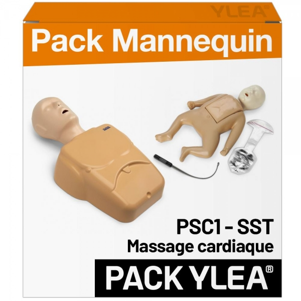 Pack mannequins de secourisme PSC1 et SST FORMA Plus RESCUE