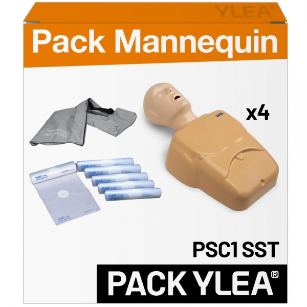 Pack mannequins de secourisme PSC1 SST PRO RESCUE