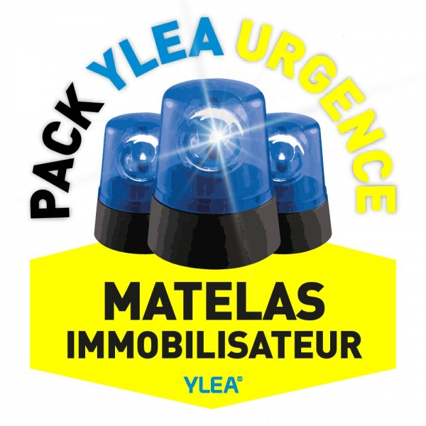 Kit complet matelas coquille YLEA URGENCE