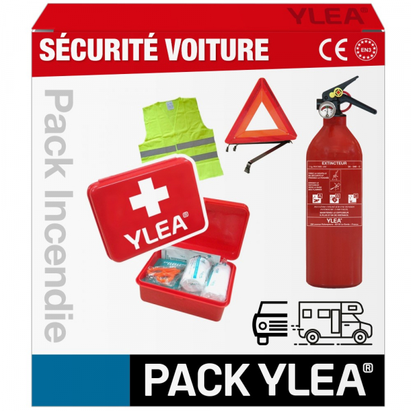 Kit voiture gilet triangle