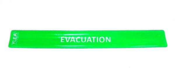 achat brassard vacuation incendie vert au pas cher. Black Bedroom Furniture Sets. Home Design Ideas
