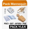 Pack mannequins de secourisme PSC1 SST PSE AFGSU START Plus RESCUE