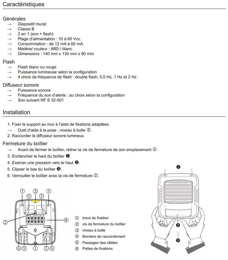 diffuseur-sonore-lumineux-fiche-technique